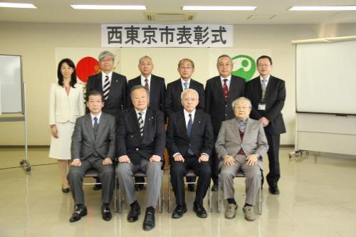 西 東京 市長 選挙